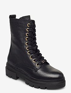 RUGGED CLASSIC BOOTIE - flate ankelstøvletter - black