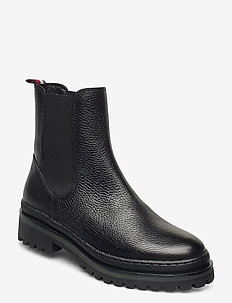 RUGGED CLASSIC CHELSEA BOOT - chelsea boots - black
