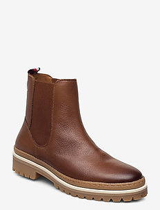 RUGGED CLASSIC CHELSEA BOOT - chelsea boots - natural cognac