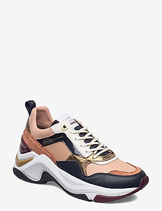 COLOURBLOCK WEDGE SNEAKER - lave sneakers - copper canyon