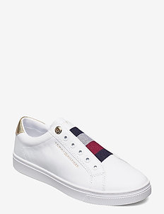 TH ELASTIC SLIP ON SNEAKER - slip-on sneakers - white