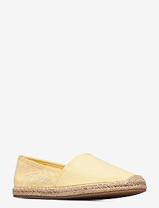 TH SIGNATURE ESPADRILLE - flache espadrilles - delicate yellow