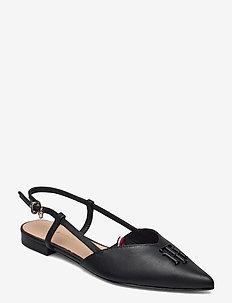 FEMININE POINTED BALLERINA - ballerinas - black