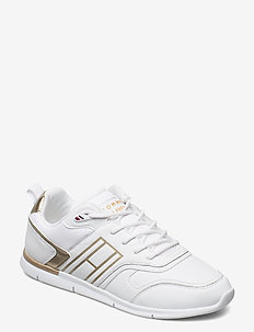 METALLIC LIGHTWEIGHT SNEAKER - low top sneakers - gold
