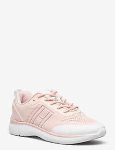 KNITTED LIGHT SNEAKER - sneakersy niskie - dusty rose