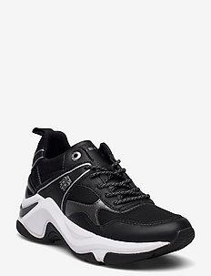 FASHION WEDGE SNEAKER - lage sneakers - black