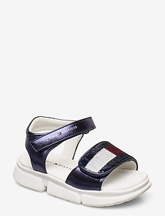 VELCRO SANDAL - sandals - blu