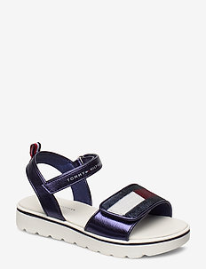 VELCRO SANDAL BLUE - sandals - blu