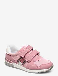 LOW CUT VELCRO SNEAKER PINK - sandals - rosa