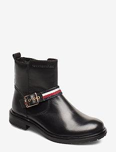 BOOTIE BLACK - støvler - nero