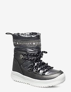 TECHNICAL BOOTIE - vinterstøvler - dark silver