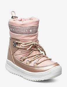 TECHNICAL BOOTIE - vinterstøvler - rosa