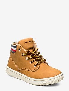 MID CUT VELCRO SNEAKER - sneakers - yellow