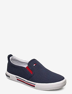 LOW CUT SNEAKER BLUE - BLU