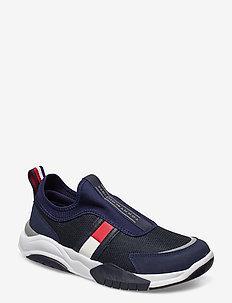LOW CUT SNEAKER BLUE - sneakers - blu