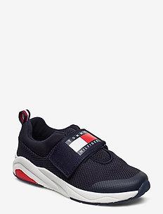 LOW CUT VELCRO  SNEAKER BLUE - sneakers - blue
