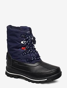 TECHNICAL BOOTIE - vinterstøvler - black/blue