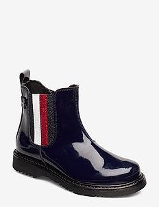 BOOTIE BLACK - vinterstøvler - blu