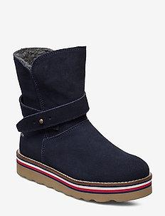 BOOTIE BLUE - støvler - blu