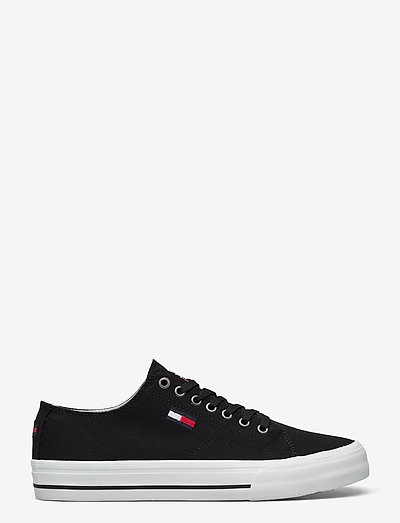 LONG LACE UP VULC - laag sneakers - black