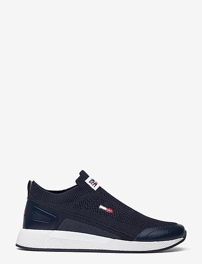 TOMMY JEANS FLEXI SOCK RUNNER - laag sneakers - twilight navy