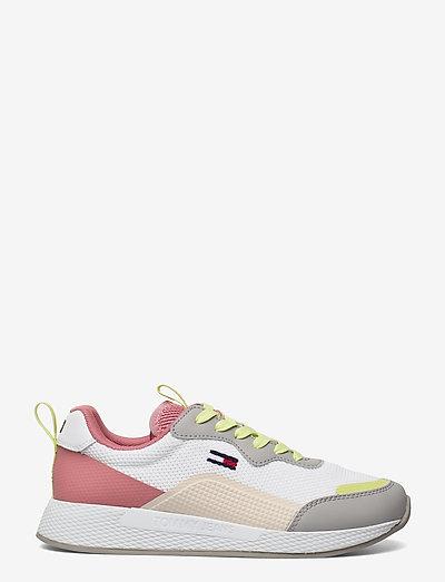 TECHNICAL DETAIL RUNNER - low top sneakers - sterling grey