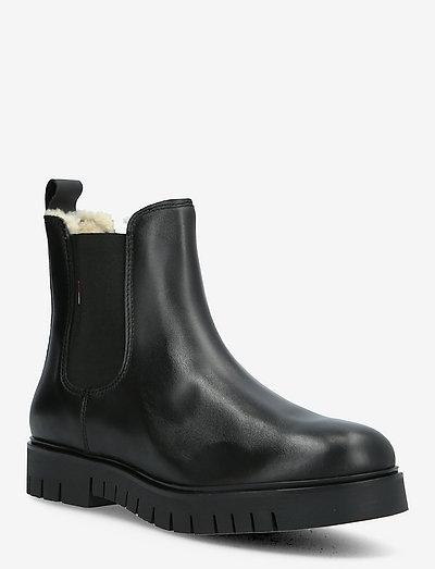 WARMLINED CHELSEA BOOT - bottes chelsea - black