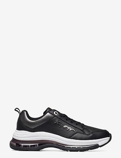 CITY AIR RUNNER METALLIC - low top sneakers - black