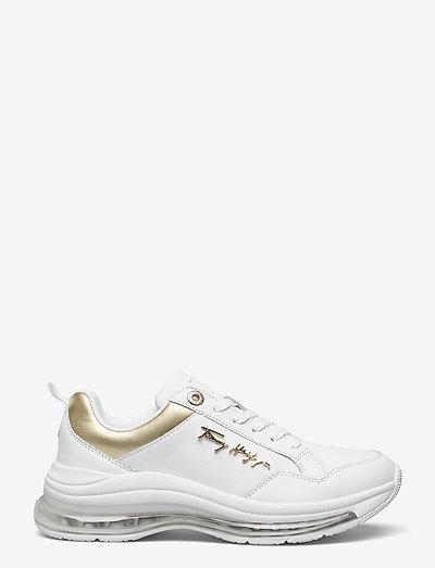CITY AIR RUNNER METALLIC - low top sneakers - white