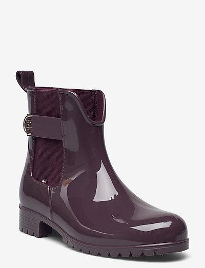 TH HARDWARE RAINBOOT - bottes de pluie - deep burgundy