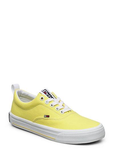 Lowcut Essential Sneaker Niedrige Sneaker Weiß TOMMY HILFIGER