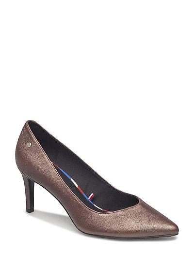 Evy 3a Shoes Heels Pumps Classic Beige TOMMY HILFIGER