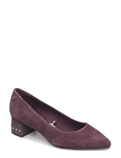 Eleonor 1b Shoes Heels Pumps Classic Lila TOMMY HILFIGER