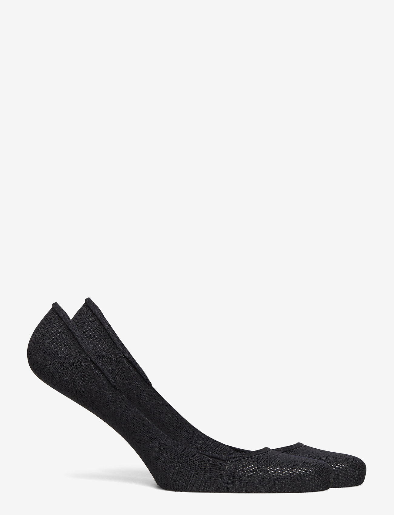 Tommy Hilfiger - TH WOMEN FOOTIE 2P TH BURN OUT - footies - black - 1