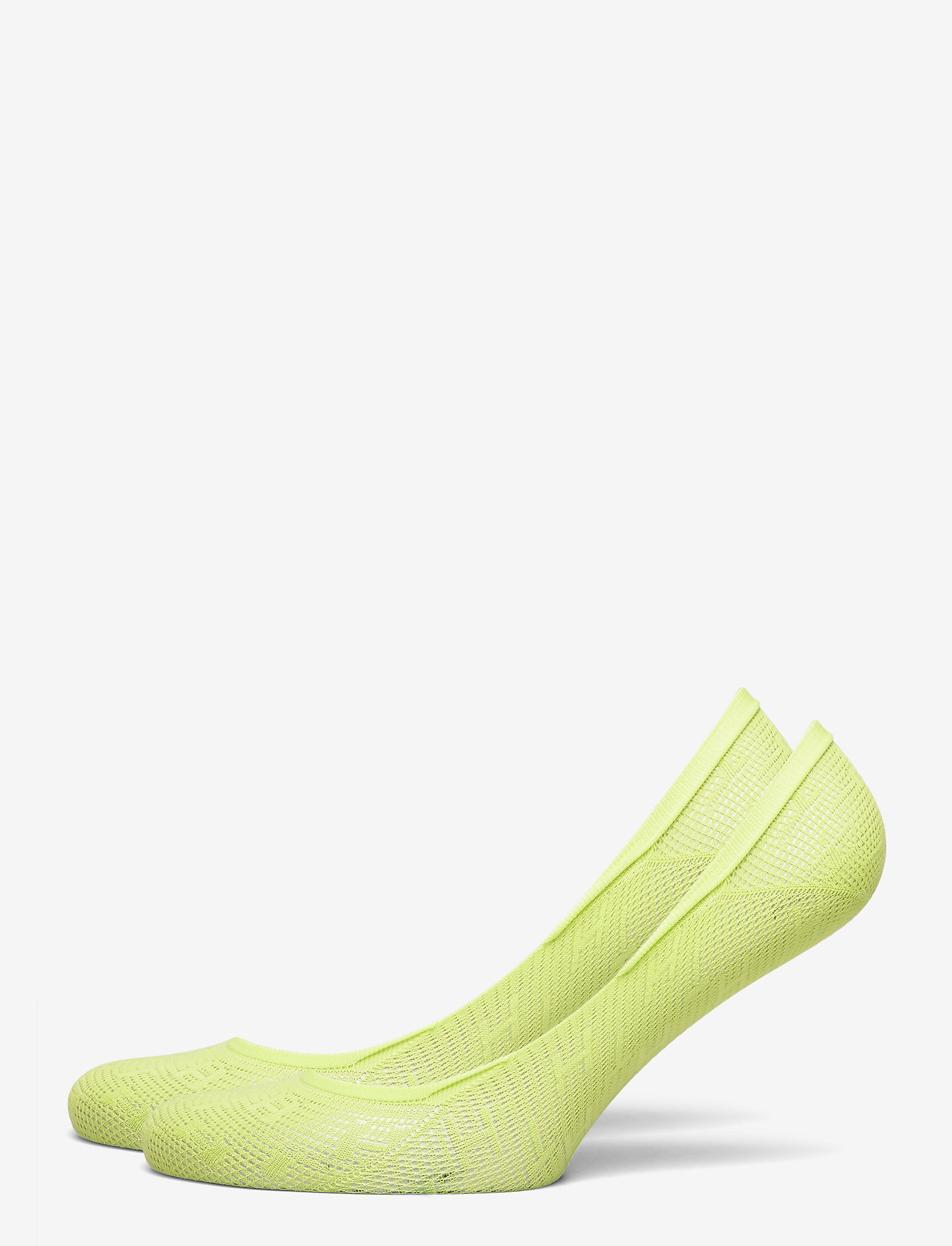 Tommy Hilfiger - TH WOMEN FOOTIE 2P TH BURN OUT - footies - lime - 0