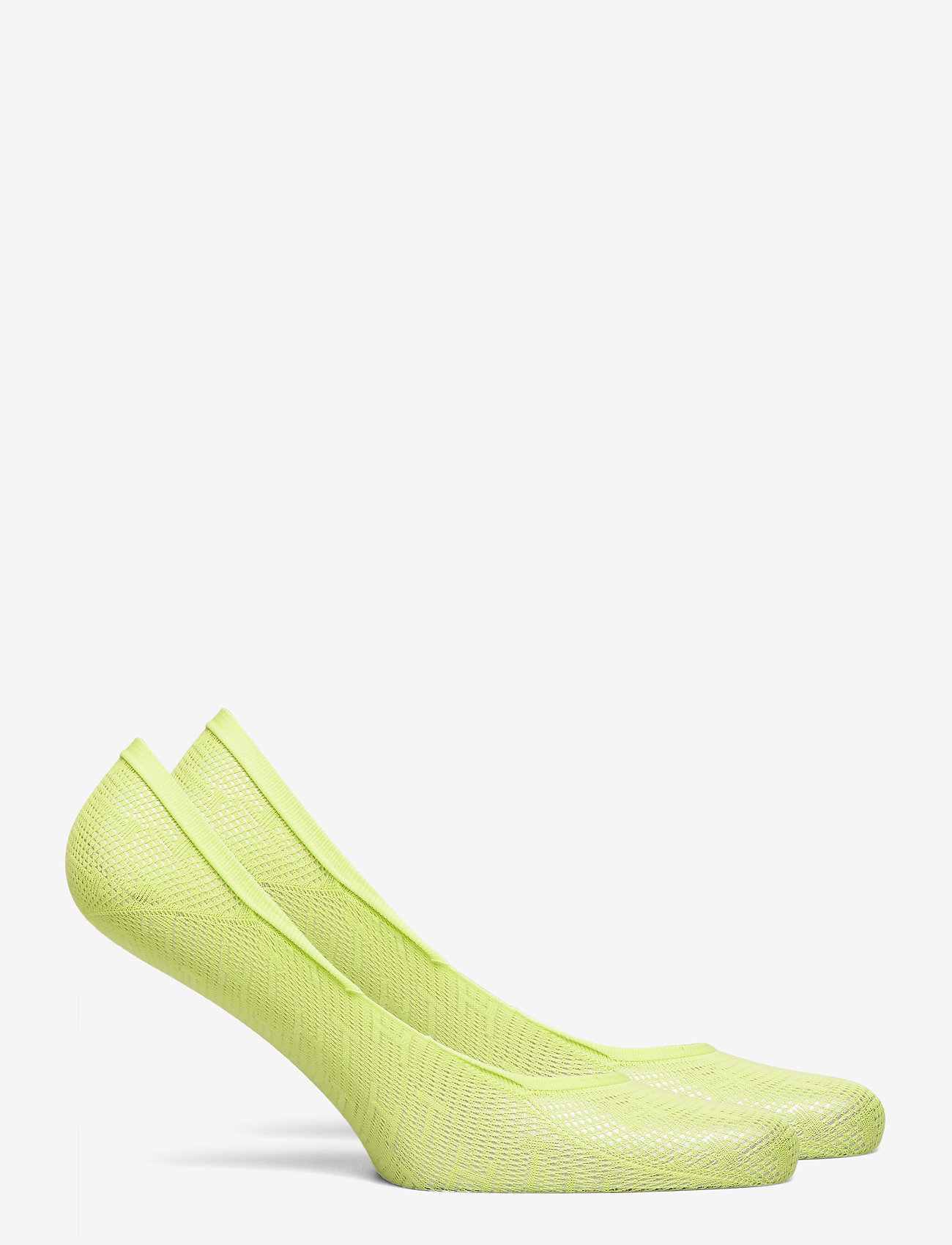 Tommy Hilfiger - TH WOMEN FOOTIE 2P TH BURN OUT - footies - lime - 1