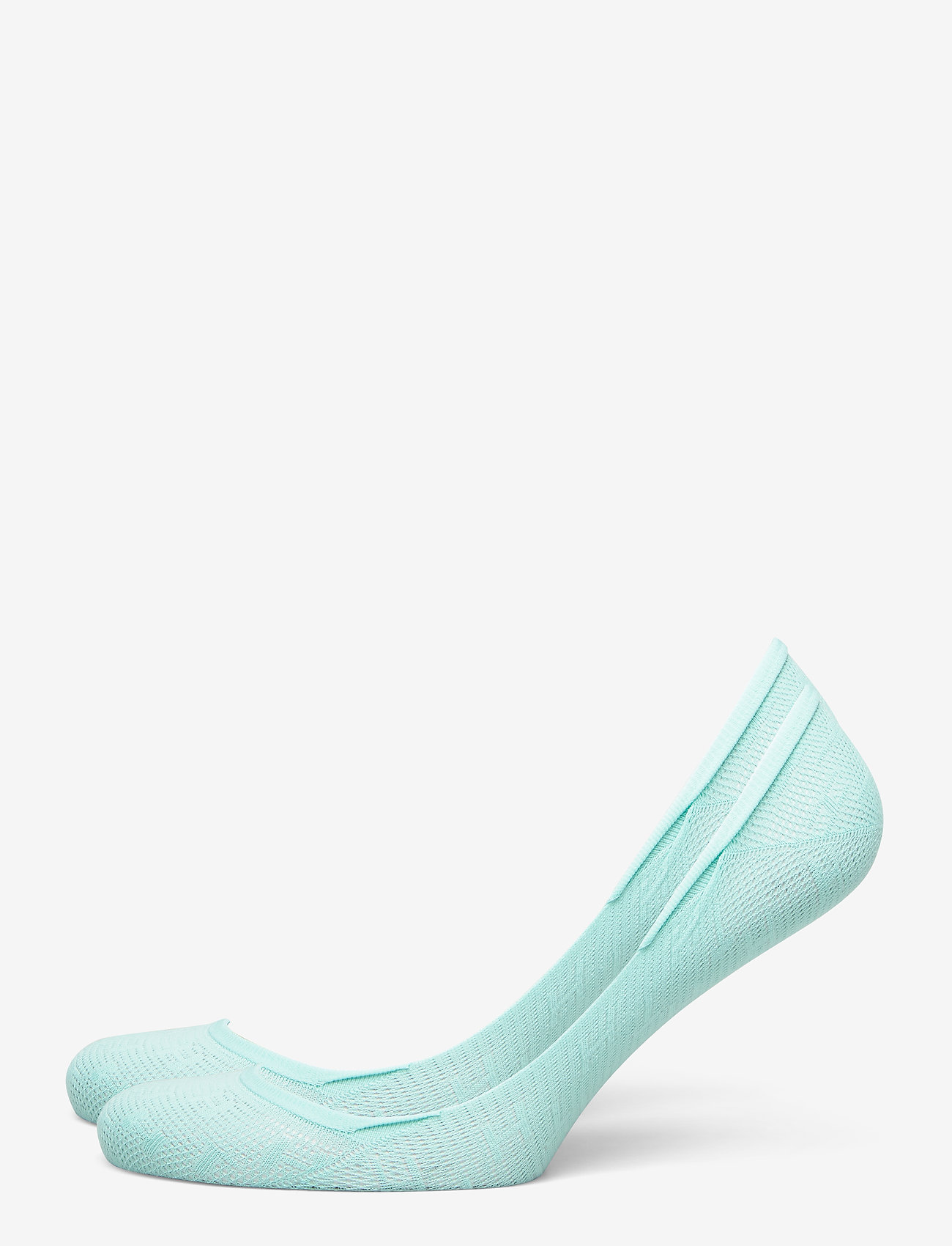 Tommy Hilfiger - TH WOMEN FOOTIE 2P TH BURN OUT - footies - mint leaf - 0