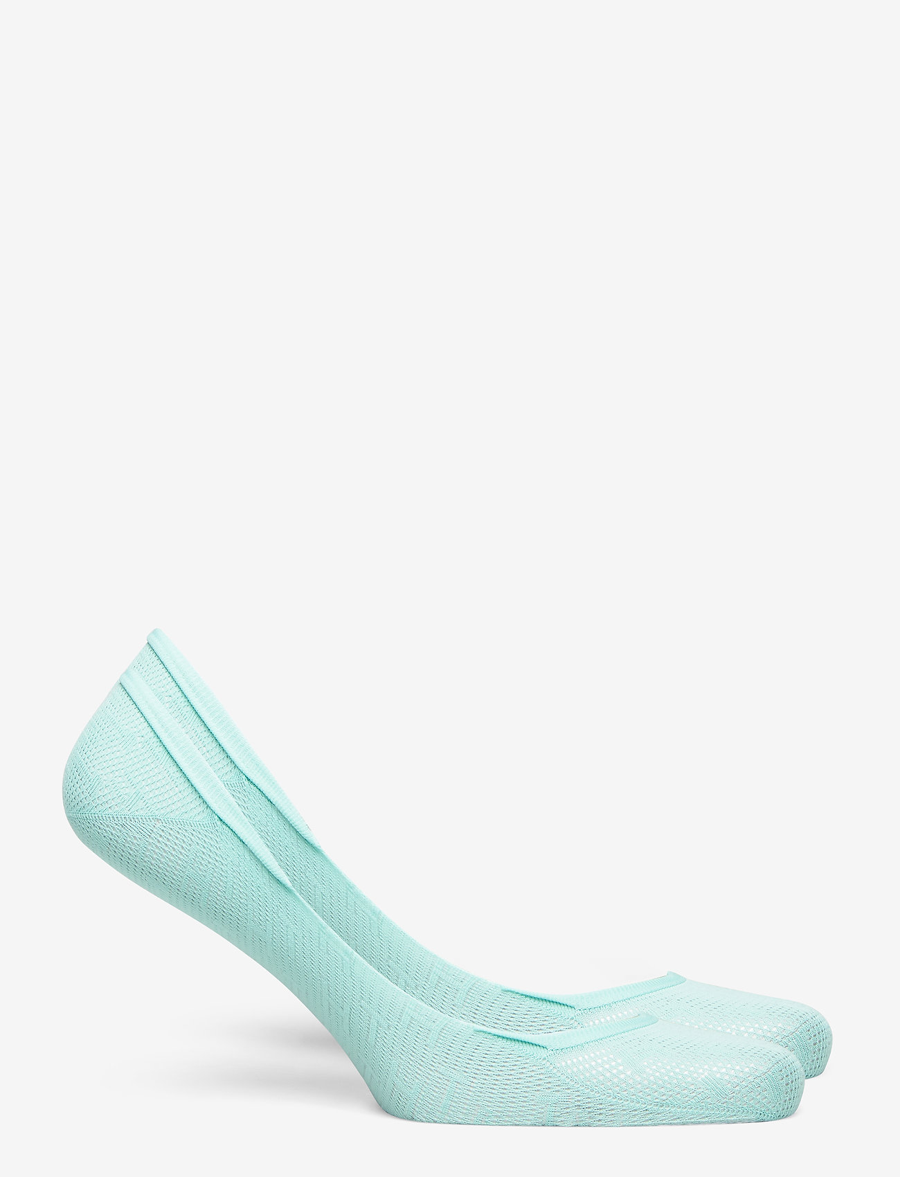 Tommy Hilfiger - TH WOMEN FOOTIE 2P TH BURN OUT - footies - mint leaf - 1