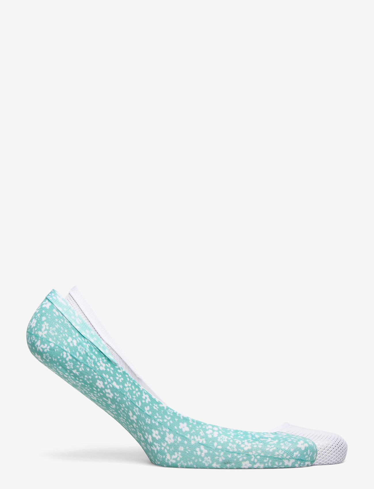 Tommy Hilfiger - TH WOMEN FOOTIE 2P DITSY FLORAL - footies - mint leaf - 1