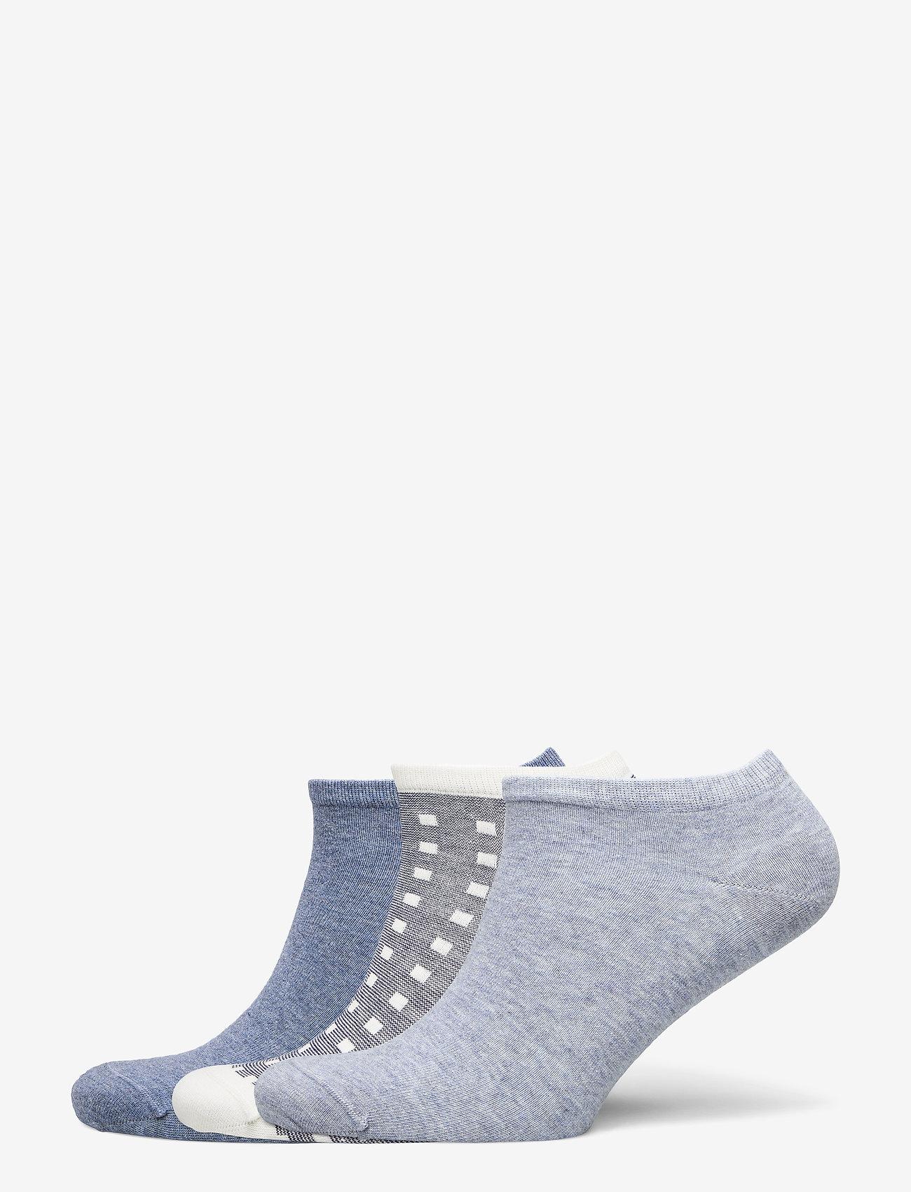 Tommy Hilfiger - TH WOMEN SNEAKER 3P PROMO - footies - jeans - 0