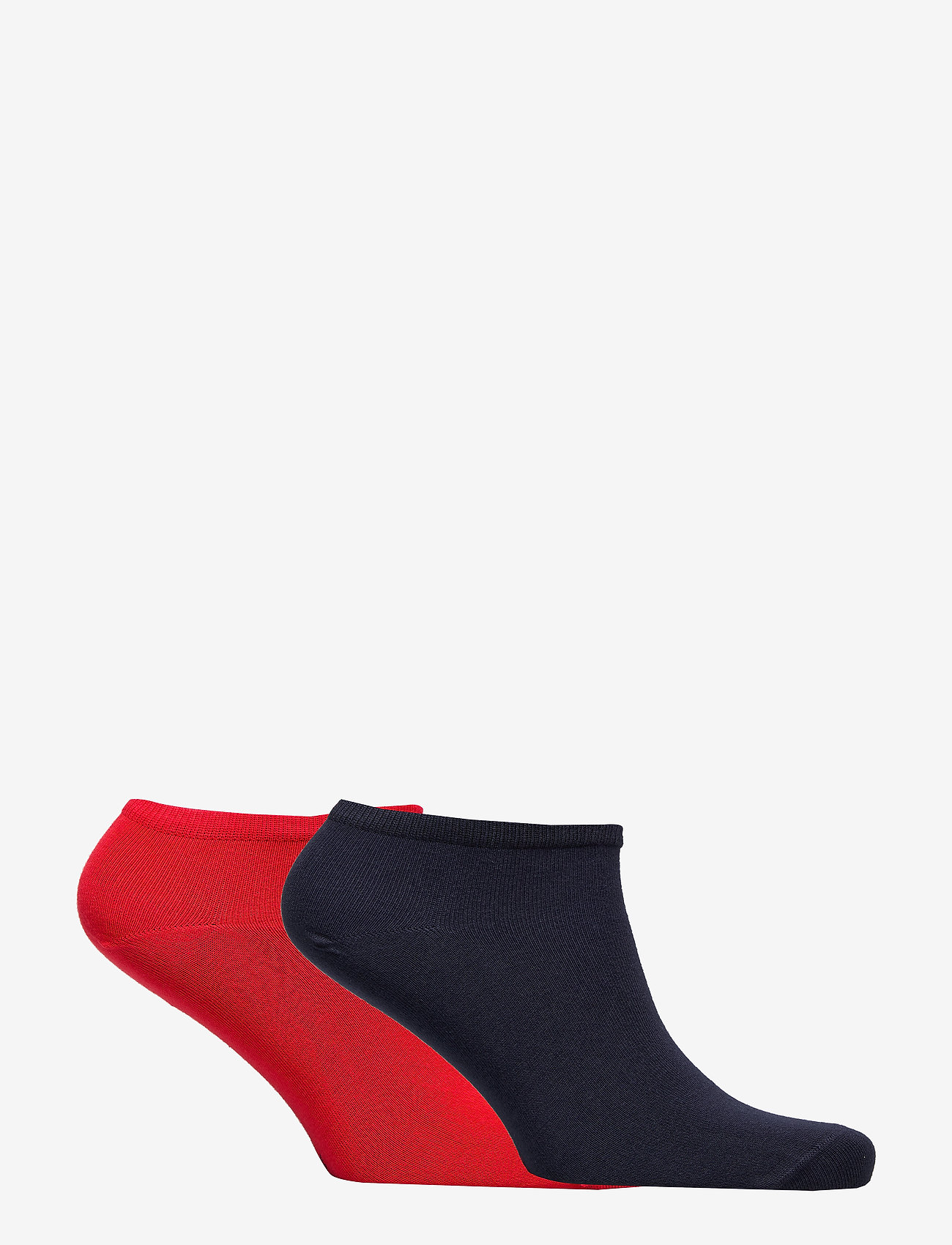 Tommy Hilfiger - TH WOMEN SNEAKER 2P - footies - tommy red - 1