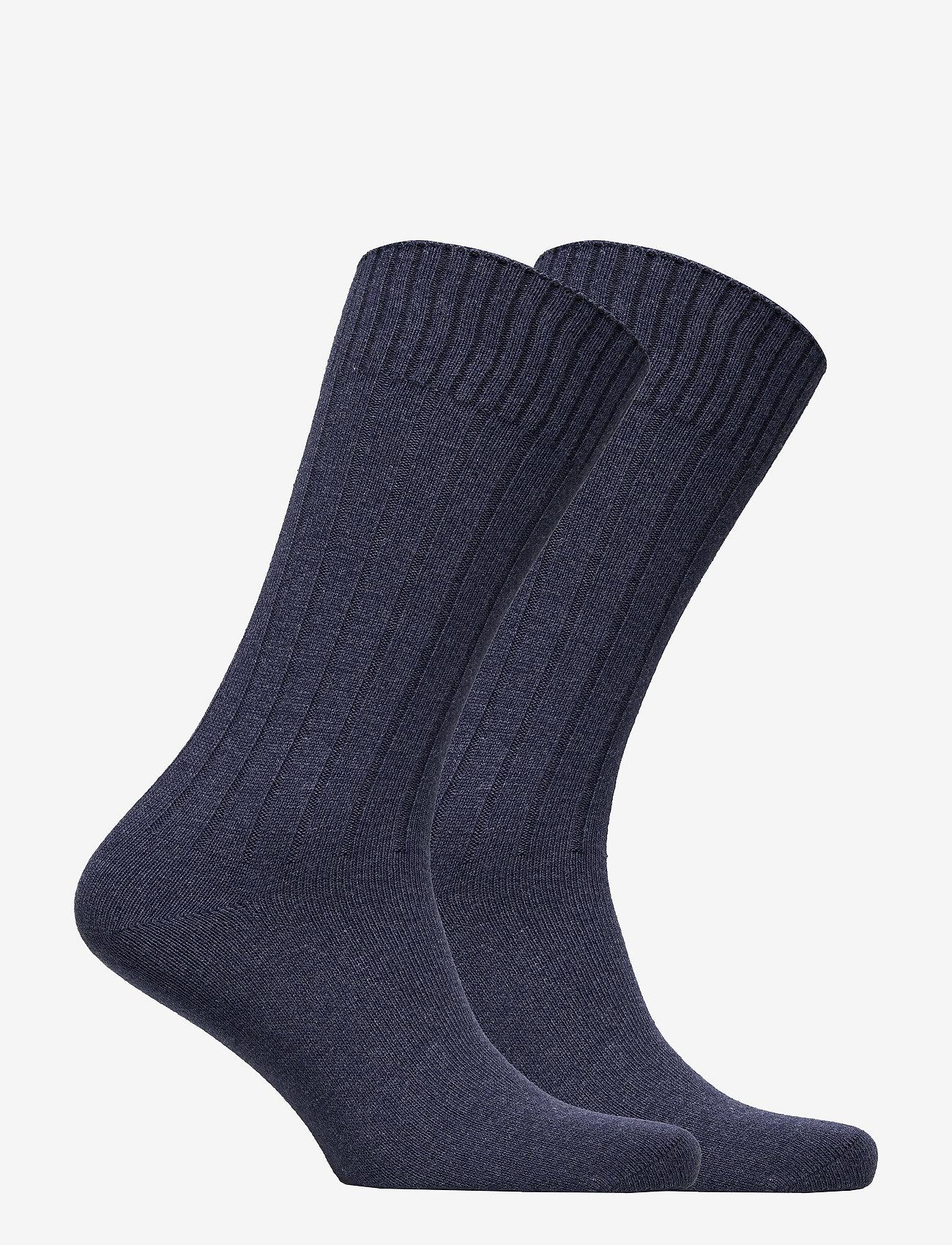 Tommy Hilfiger - TH MEN TRUE AMERICA SOCK 2P - vanliga strumpor - jeans - 1