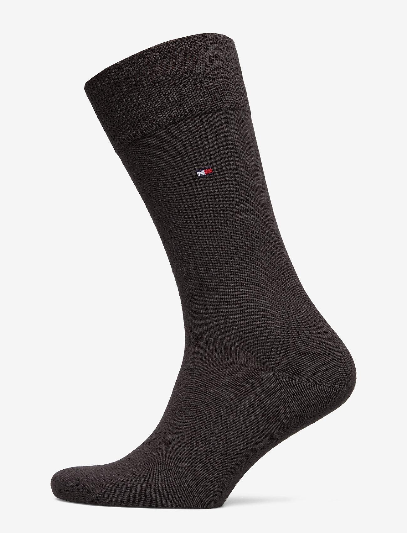 Tommy Hilfiger - SOCKS 2-PAIRS - regulære sokker - kensington brown - 0
