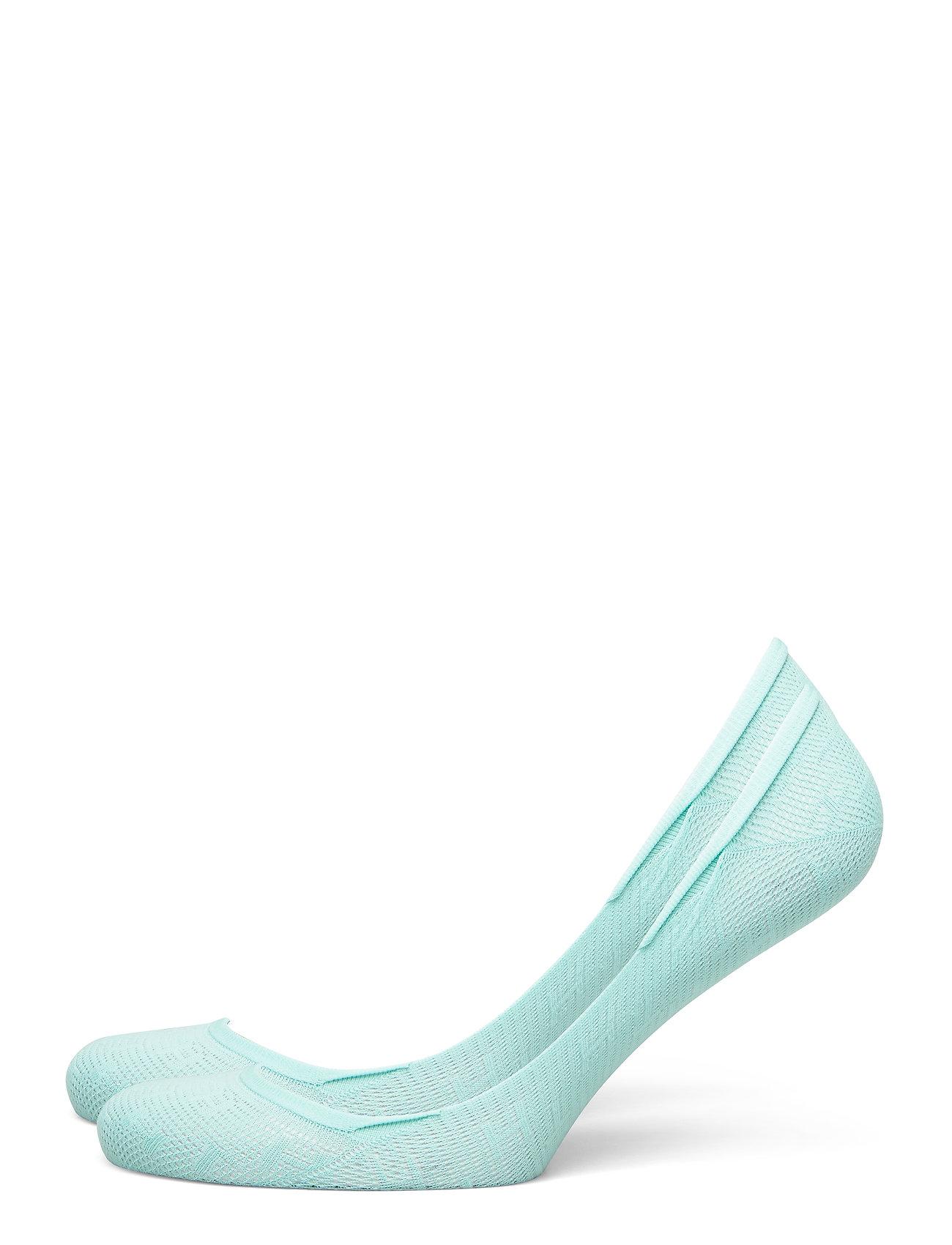 Image of Th Women Footie 2p Th Burn Out Lingerie Socks Footies/Ankle Socks Blå Tommy Hilfiger (3416359981)