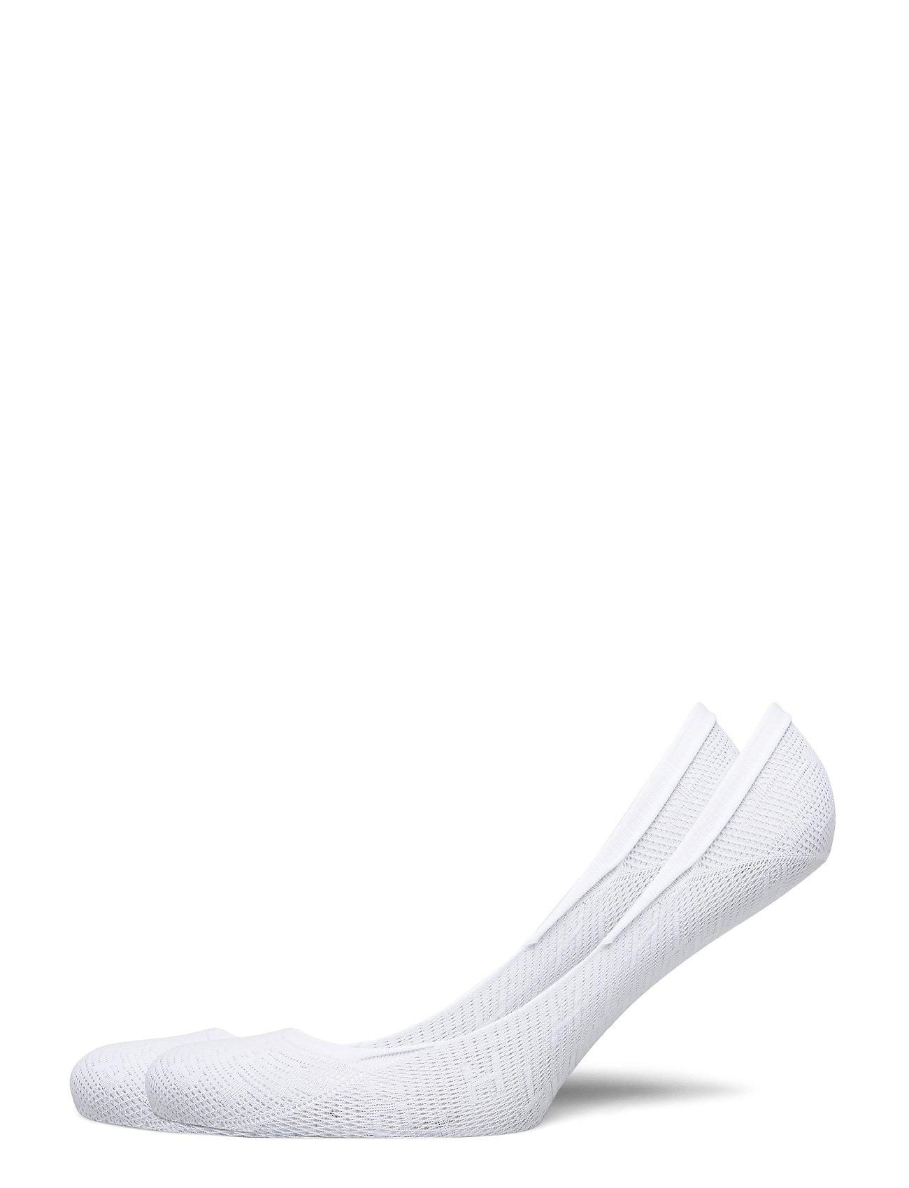 Image of Th Women Footie 2p Th Burn Out Lingerie Socks Footies/Ankle Socks Hvid Tommy Hilfiger (3455958667)