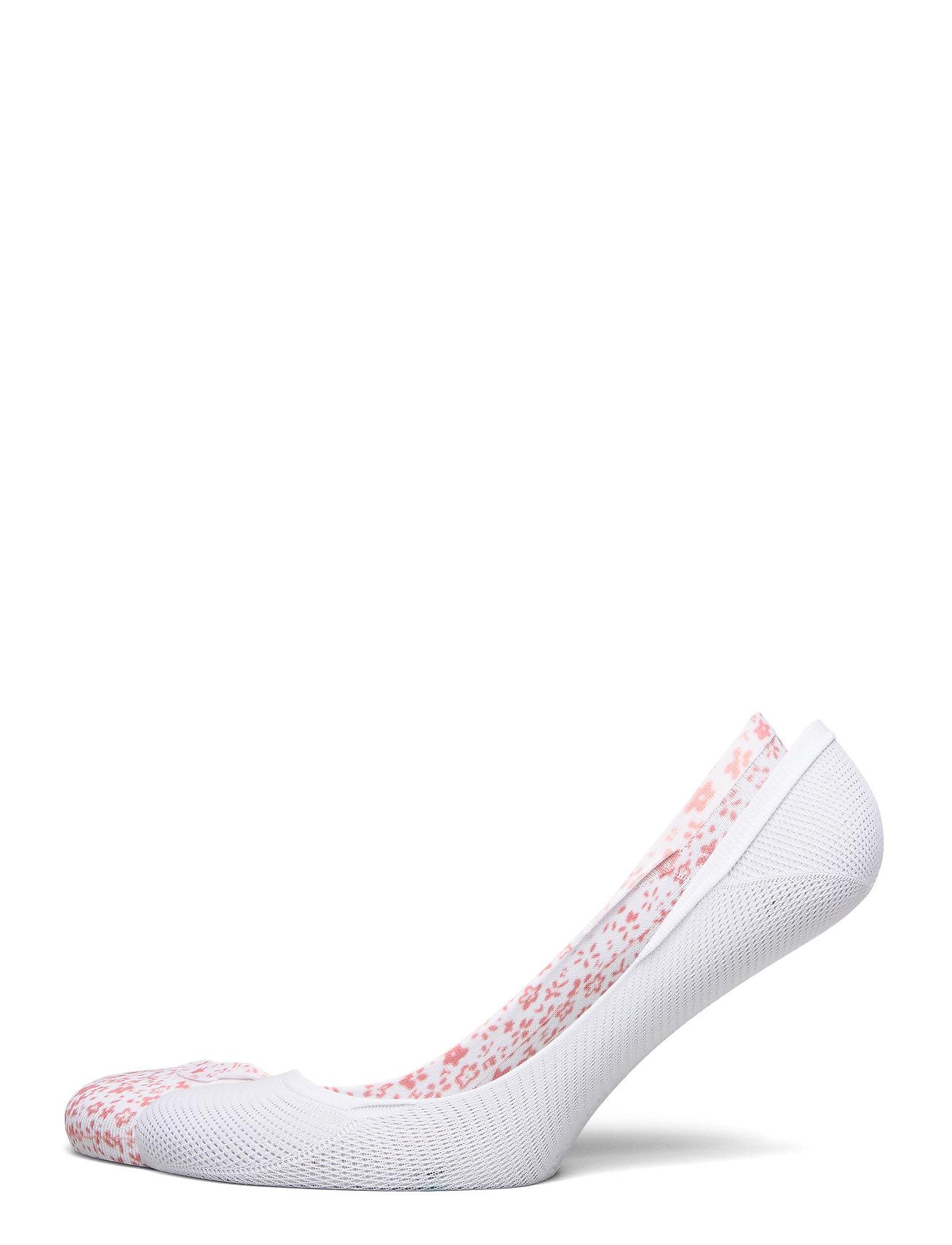 Image of Th Women Footie 2p Ditsy Floral Lingerie Socks Footies/Ankle Socks Hvid Tommy Hilfiger (3416359939)
