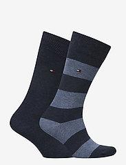 Tommy Hilfiger - TH MEN RUGBY SOCK 2P - vanliga strumpor - jeans - 1