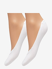 Tommy Hilfiger - TH WOMEN BALLERINA STEP 2P - footies - white - 0