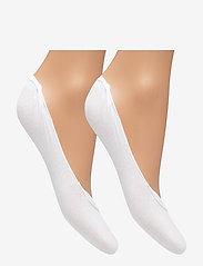 Tommy Hilfiger - TH WOMEN BALLERINA STEP 2P - footies - white - 1