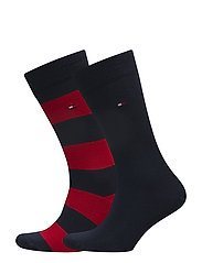 TH MEN RUGBY SOCK 2P - TOMMY ORIGINAL